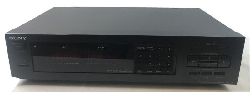Sony SEQ-711 spectrum analyzer graphic equalizer EB-4943