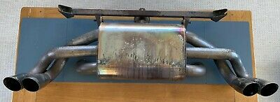 Used Ferrari F 355 Stainless Steel Sports Exhaust F355 3.5 V8 Coupe Targa Spider