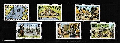 S34886 Isle Of Man MNH 2007 400 Years Jamestown 6v
