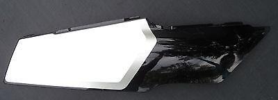 '98 FZR 600 FZR600 RIGHT REAR TAIL COVER PLASTIC FAIRING COWL BLACK WHITE YAMAHA