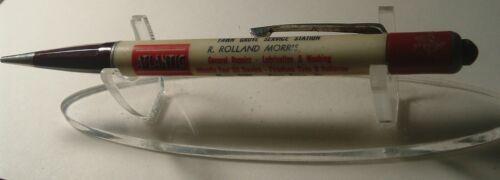 Vintage Mechanical Pencil Atlantic Gas Station Fawn Grove PA Pennsylvania