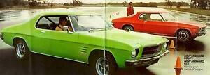 Holden HQ CARS & PARTS Monaro GTS Kingswood Coupe HK HG HJ LS.. Flinders Park Charles Sturt Area Preview