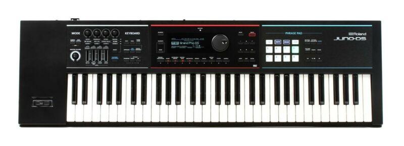 roland, juno, ds61, keyboard, synthesizer, 61 key keyboard, professional board