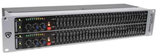 Rockville REQ231 Dual 31 Band Home Theater Graphic Equalizer