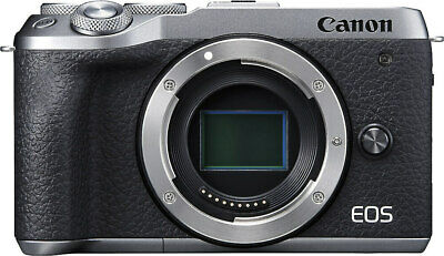 Canon EOS M6 Mark II- Body Only Silver