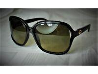 Gucci Sunglasses GG 3646/s D28ed Black Brown Authentic
