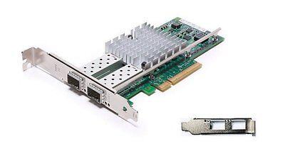 Intel/Dell X520-DA2 10Gb 10Gbe 10 Gigabit Network Adapter NIC Dual E10G42BTDA