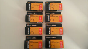 Lot-of-8-boxes-of-Stanley-Bostitch-B8-Power-Crown-Staples-1-4-for-B8-stapler