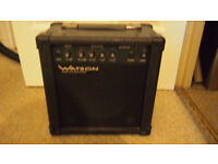 Guitar amplifier speaker