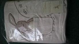 John Lewis cot duvet cover and pillowcase