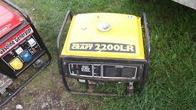 petrol generator power craft