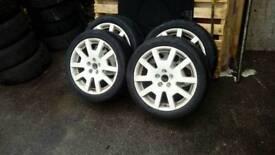 Vrs wheels also fit vw golf 5 x 100
