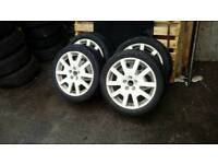 Vrs wheels also fit vw golf 5 x 100