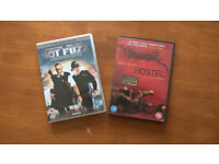 DVD - Hostel and Hot Fuzz