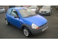 ford ka ideal first car very low miles 21000 from new 1 years mot px welcome