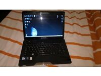 13inch Toshiba laptop with fast linux o/s