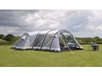 Kampa Bergen 6 Air Pro Tent Plus Carpet and Footprint