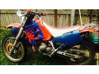 Suzuki 125 Feild bike (not cr,yz,kx,rm) BARGAIN