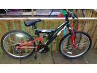 Boys mountain bike 24inch