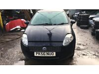 2006 Fiat Punto Dynamic 3dr 1.4 Petrol Blue BREAKING FOR SPARES