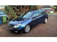 Ford Focus 1.8tdci (115ps) Diesel 2004 5 door Blue 122k 12 Months M.O.T economical private sale