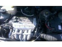 2002 Ford Puma 1.7 16 valve engine, gearbox and wiring loom