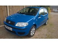 05 Fiat Punto clean car Full MOT low mileage £525 for quick sale p/x considered
