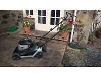 Hayter Spirit41 petrol self propelled 16 inch cut lawnmower