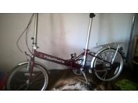 used ridgeback nearly new excellent condition just has flat wheel