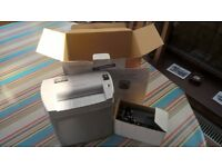 New & un-used A4 Shredder - original packaging & instructions included