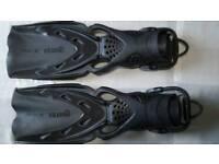 Mares X-Stream Scuba Diving Fins Black XL