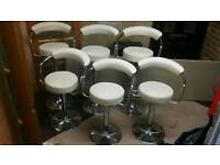 Stools chairs clearance Gas lift bar stools cafe takeaway only 10 left going fast