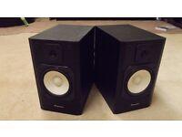 Pair of Pioneer Black Bookshelf Loudspeakers