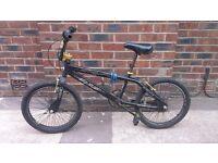 Black Montana BMX Bike