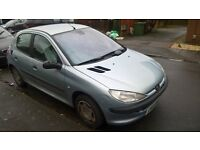Peugeot 206 - One Owner - Low mileage -Failed M.O.T Can Be Repaired