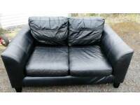 Sofa 2 seater black