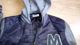 H & M Boys jacket age 13 - 14 years.