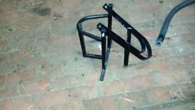 motor bike stand used for transporting bikes