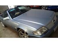 1991 Merc sl 500, soft top /hard top with car.