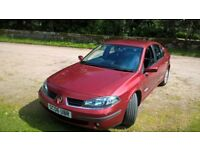 Renault Laguna Hatchback 2.0 16v Dynamique Navigation 5dr.Only 34200 miles.Good runner.Clean car.
