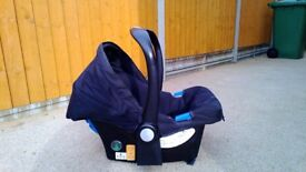 Mothercare car seat from birth onwards