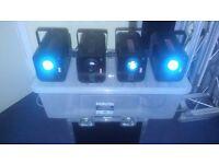Chauvet mobile D series colour changers Set of 4