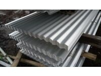 🌼 ROOFING SHEETS CORRUGATDELIVERYED GALVANISED ALUMINUM COATED 8ft 10ft 12ft FREE !