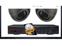 CCTV and burglar alarm installation