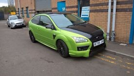 green ford focus rs replica