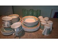 Dinnerware. Lovely pattern Port of Call by Jeff Banks.