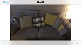 2 seater x2 plus chair £100