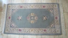 Vintage Chinese Rug 100% Wool 5ft x 3ft