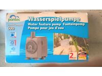 BRAND NEW - PONTEC PONDO COMPACT WATER FEATURE PUMP 600