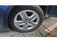 Vauxhall zafira tourer wheels